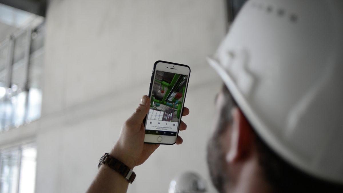 GAMMA AR for Construction Site Management, Surveillance, Building Inspection