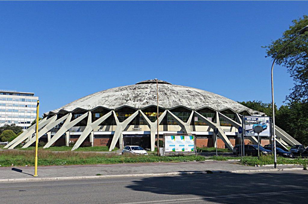 building Palazzetto dello Sport by Pier Luigi Nervi