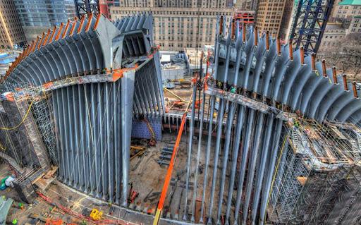 Oculus in construction