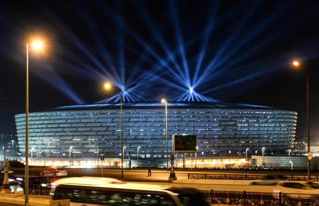 baku national stadium realized with bim