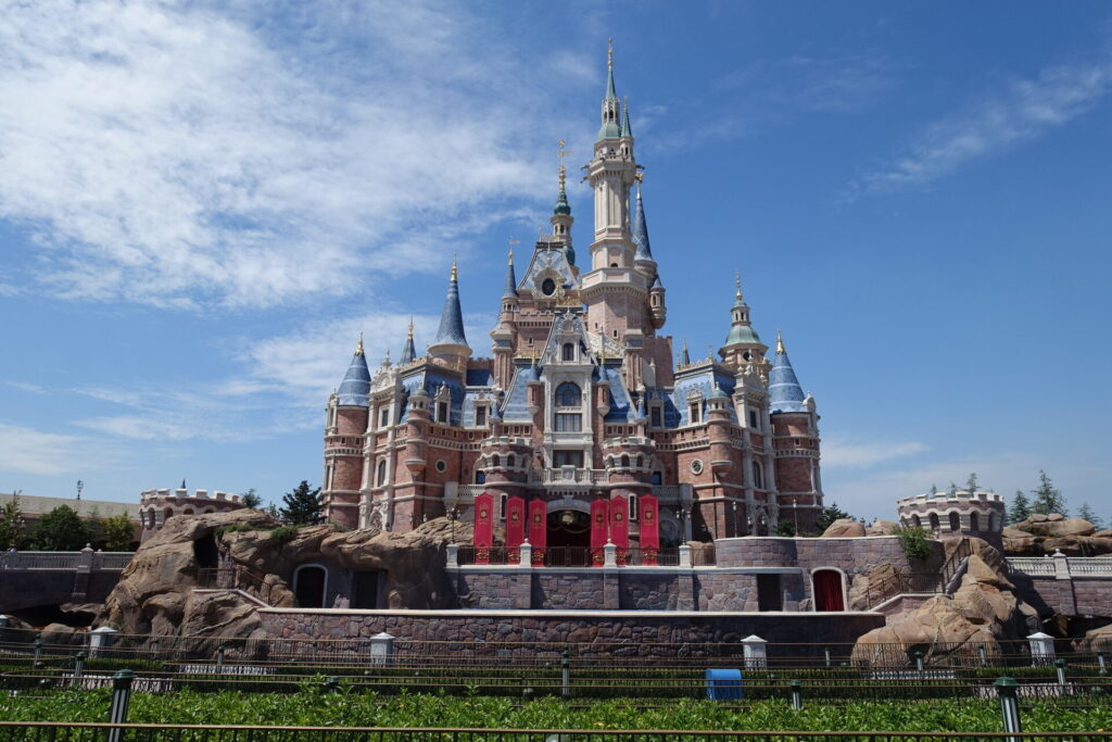 Enchanted storybook castle realized with bim
